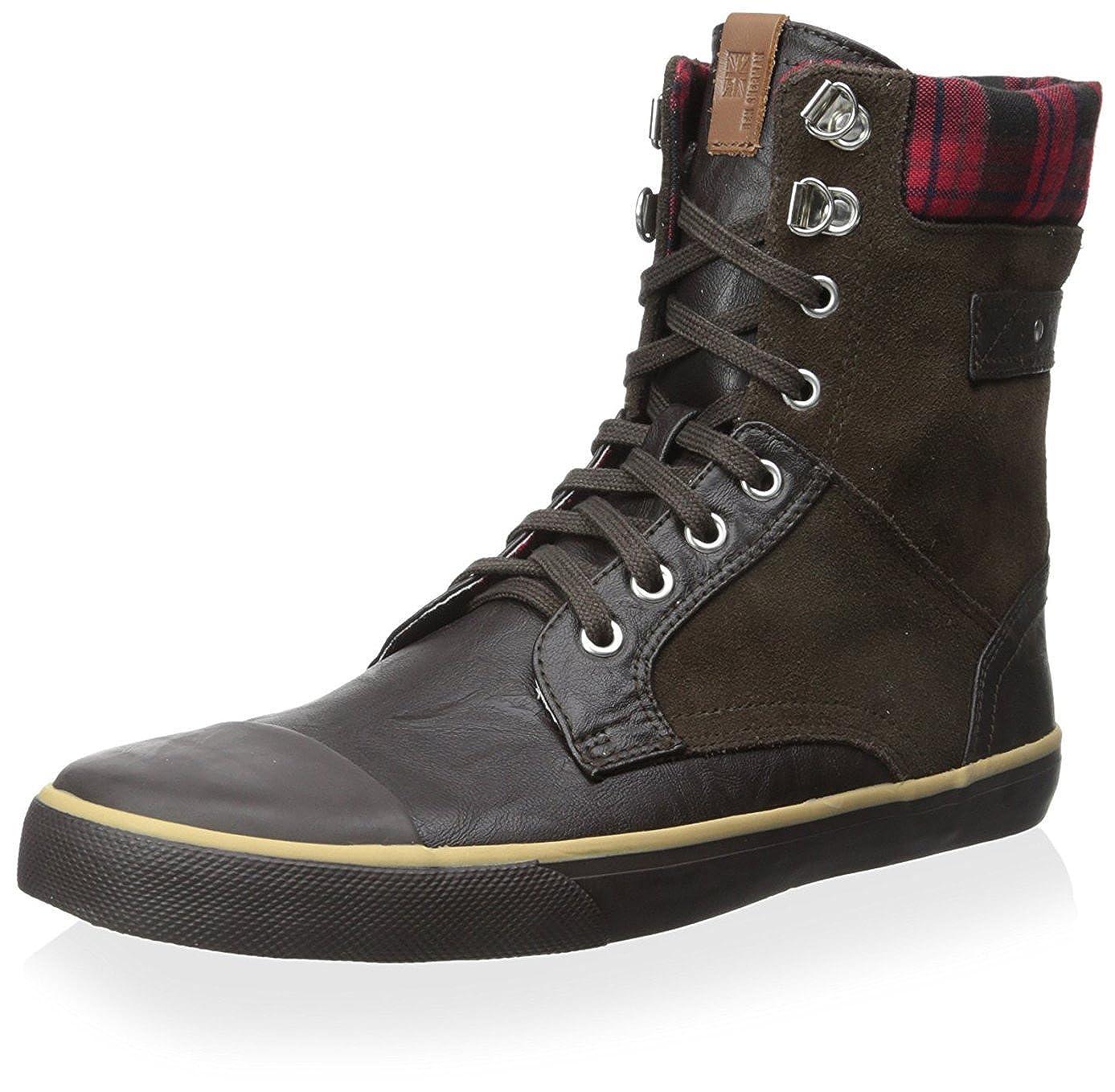 Ben Sherman Men's Carter Fashion Sneaker Chocolate 40 M EU/7 M US BN500013
