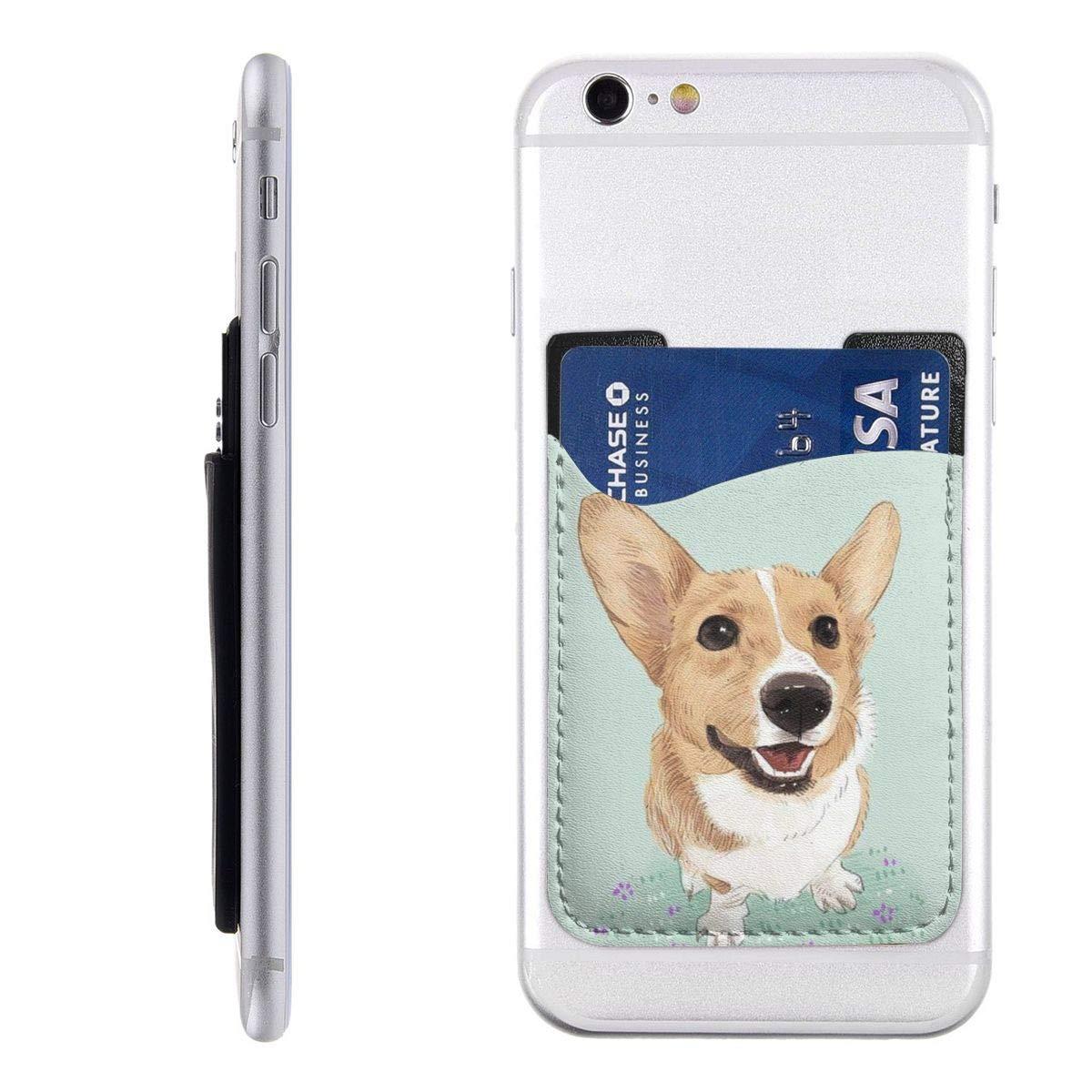 Cell Phone Card Holder >> Amazon Com Koki Dog Big Ears Cell Phone Card Holder Stick