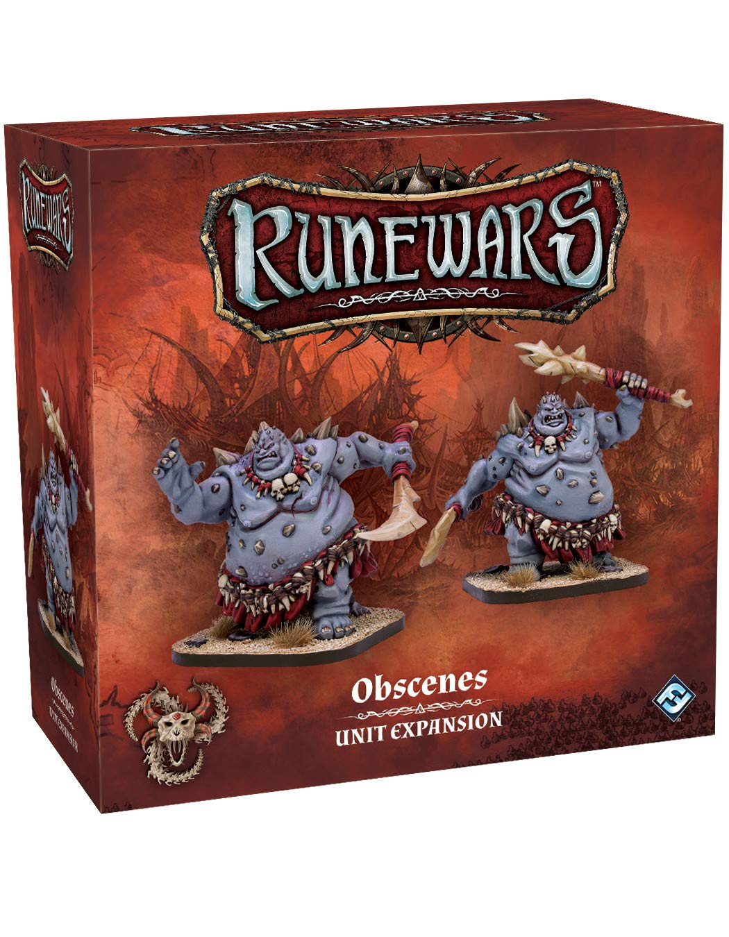 Fantasy Fantasy Fantasy Flight Games RuneWars: The Miniatures Game - Obscenes Unit Expansion - English 6ab748