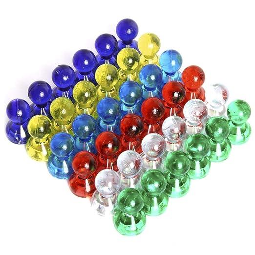 iGadgitz Home U6922 - Pins Magneticos Color Chinchetas Magneticas ...