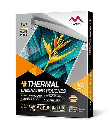 Amazon.com: Everest - Bolsas térmicas para plastificar – 9.0 ...
