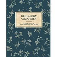 Genealogy Organizer - A Genealogy Notebook With Genealogy Charts And Forms, Family Tree Chart Book: Genealogy Gift For…