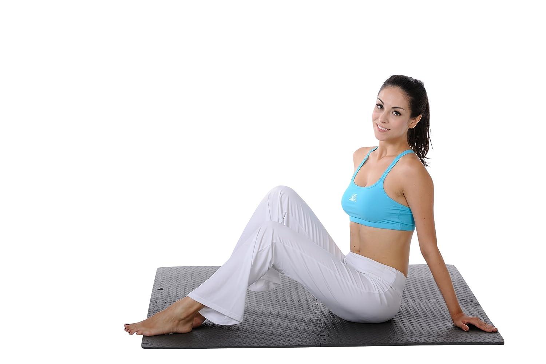 Yoga Pilates Sunny Salud y Fitness Rompecabezas Suelo Esterilla para Ejercicio