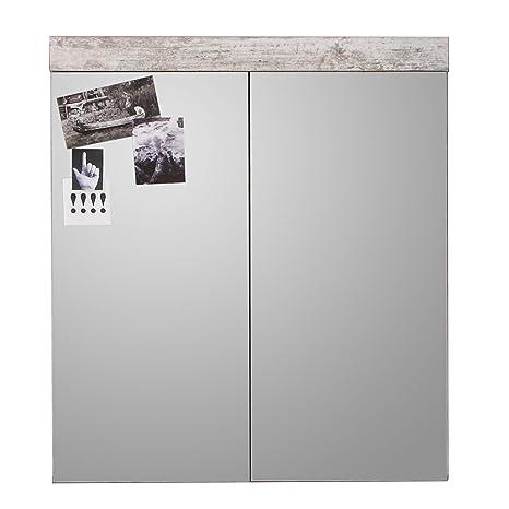 60 x 30 x 22,5 cm H x B x T House /& Homestyle Spiegelschrank