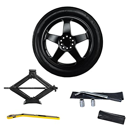 Amazon.com: 2013-2018 Cadillac ATS Complete Spare Tire Kit – All Trims – Modern Spare: Automotive