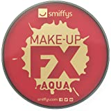 Smiffy's - Colore per trucco ad acqua, per viso e corpo, 16 ml, Rosso