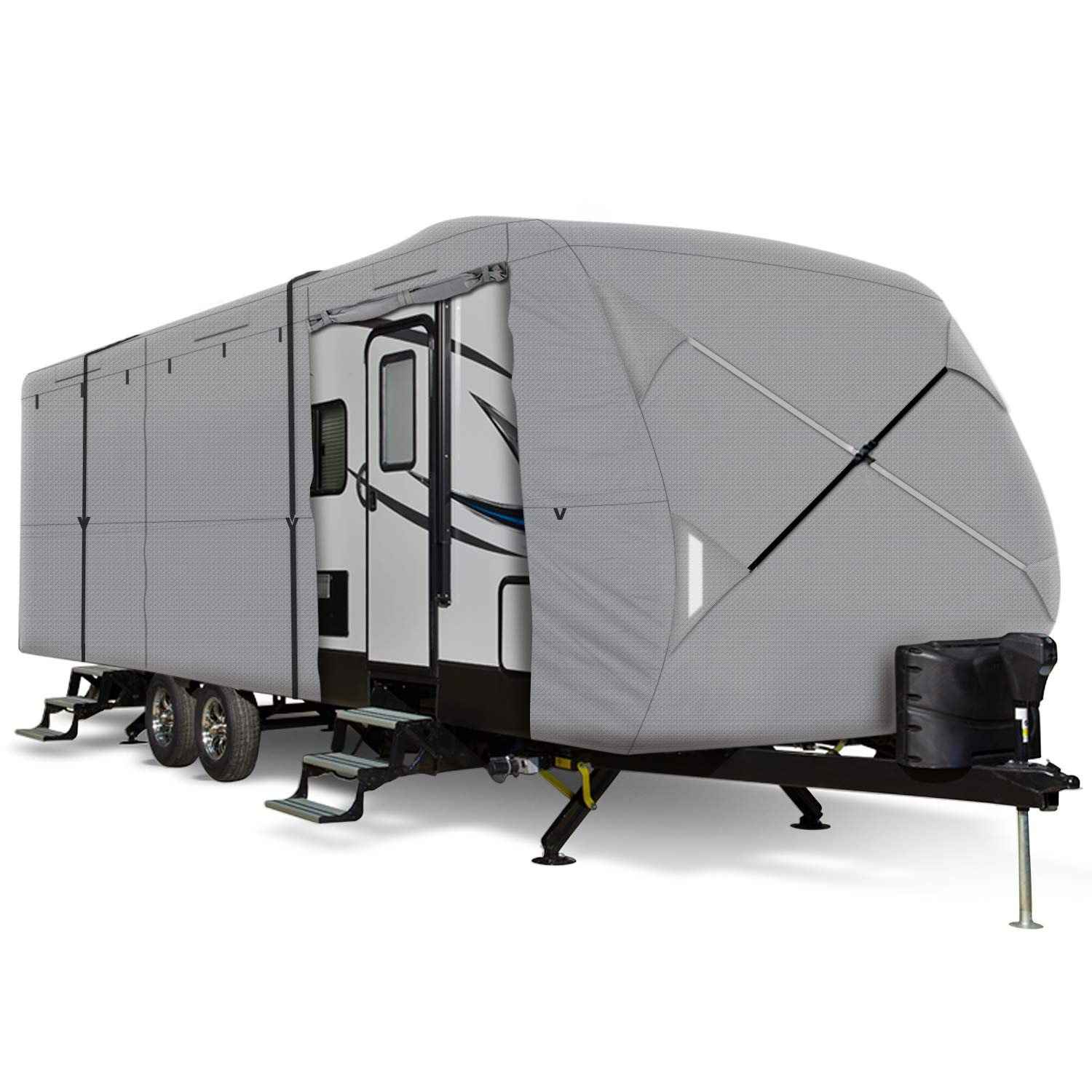 Travel Trailer Rv Cover Fits 14 15 16 Feet Trailer Camper 3 Layer