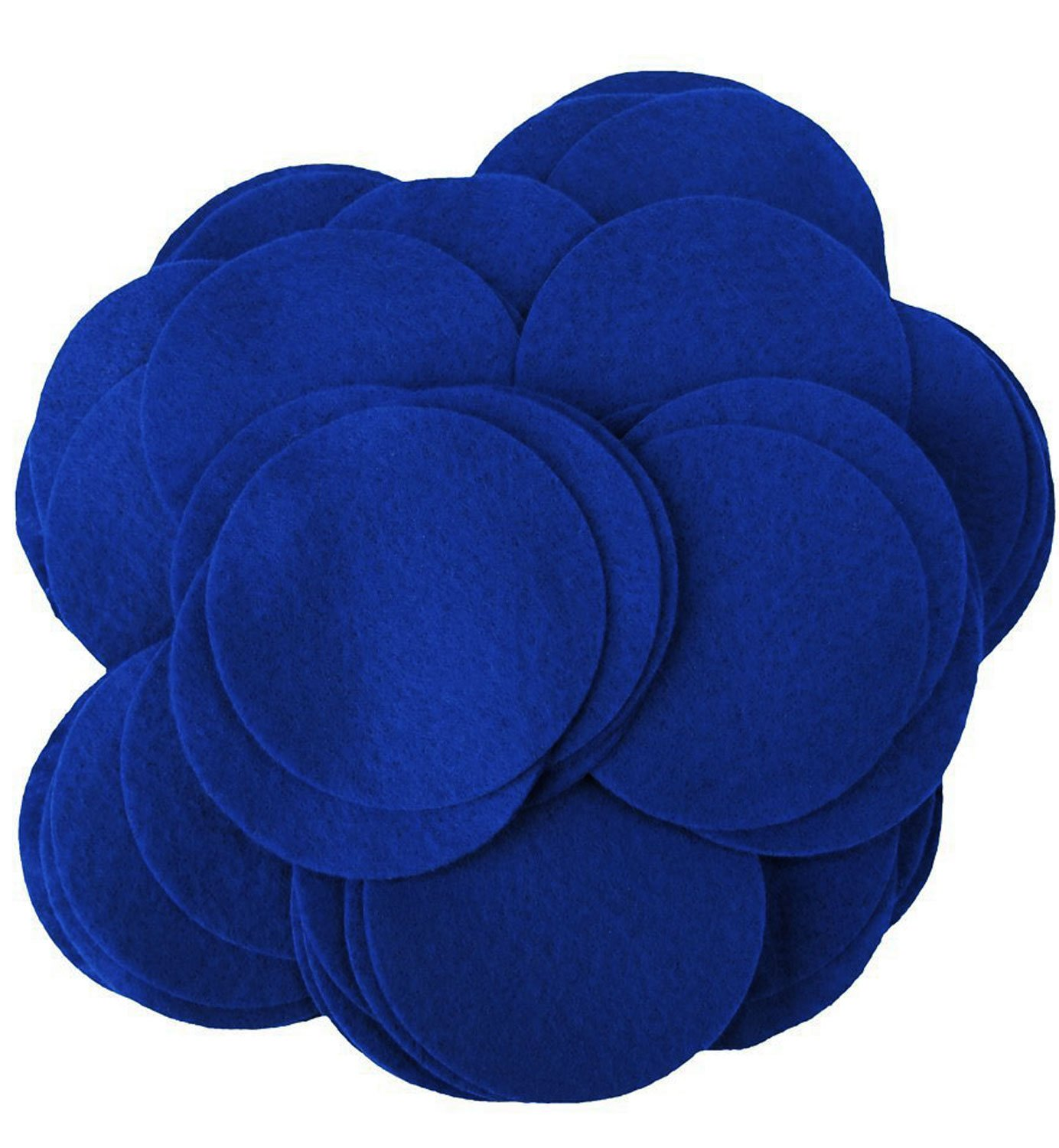 Playfully Ever After 3 Inch Blue 30pc Felt Circles