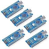 Mini USB Arduino Nano V3.0 改造バージョン Arduino Nano V3.0互換ボード ATmega328P搭載 (5個)