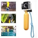 JZK® monopod palo flotante de buceo flotación flotador apretón de la mano de la manija de la muñeca tornillo de flotación accesorio de correa para Gopro Hero 2 3 3 + 4 SJ5000 SJ4000