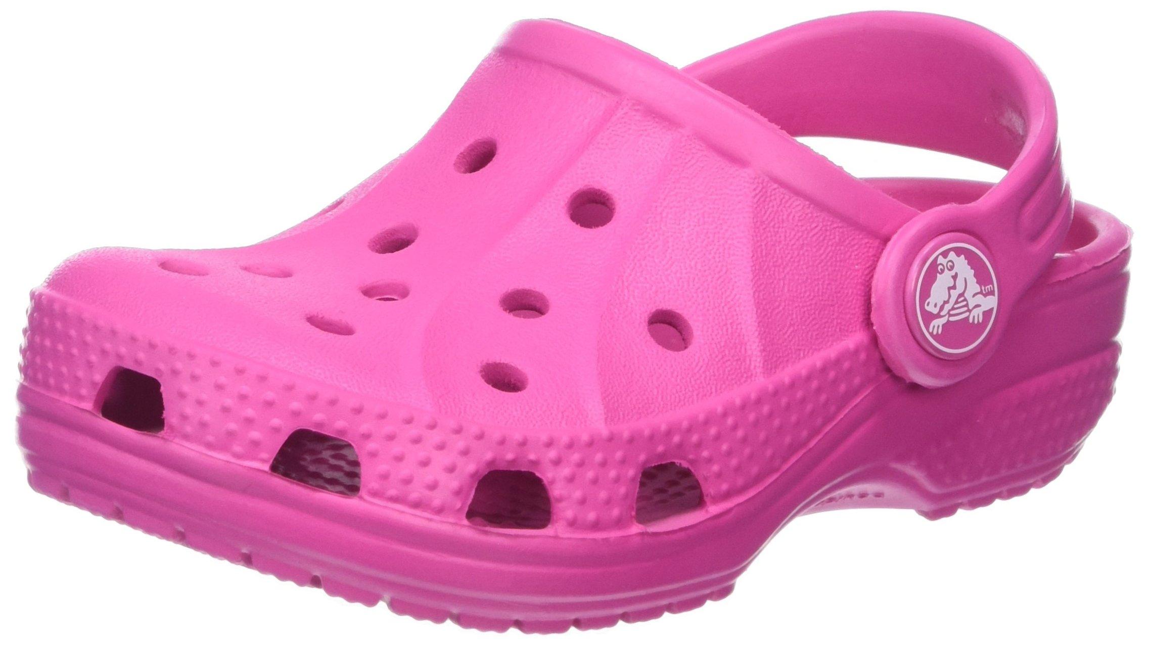 Crocs Kids Ralen Classic Clog Roomy Fit (J3, Fuchsia)