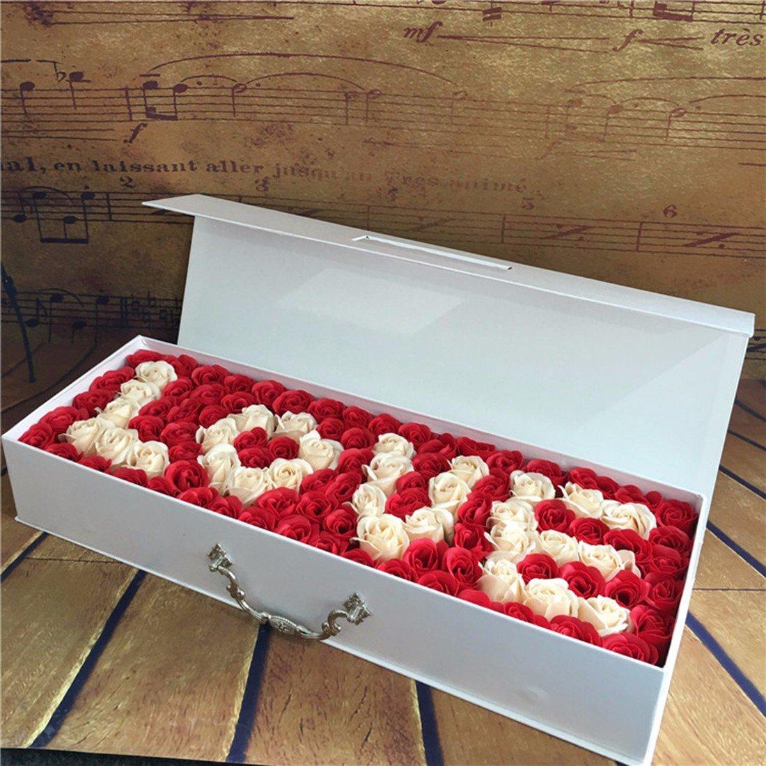 Creative regali di compleanno, imitazione flower soap, 99 bouquet di rose, Natale di inviare la sua fidanzata,viola D&D-Regalo