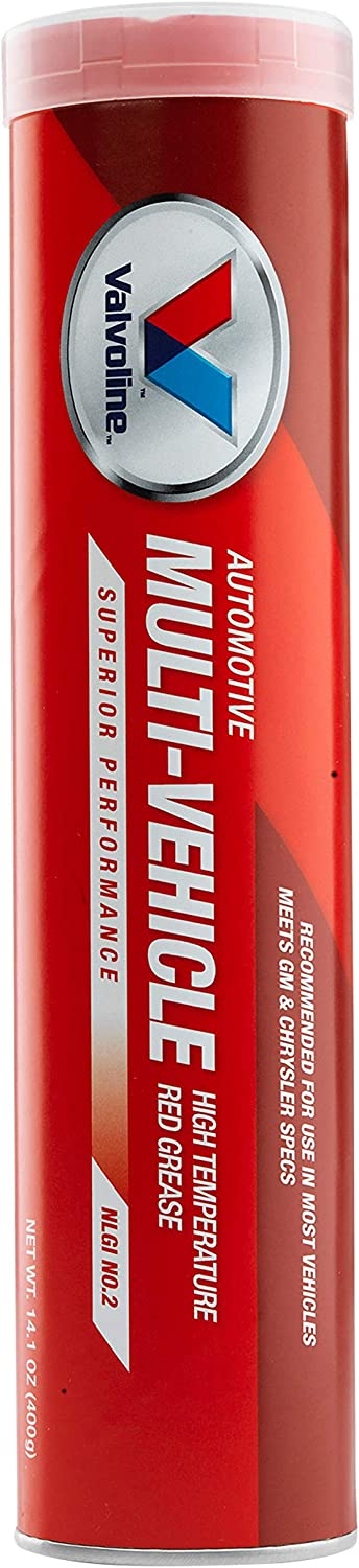 valvoline multi-vehicle red grease