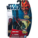 Star Wars Movie Heroes 2012 Action Figure MH05 Darth Maul (With Slashing Lightsaber Action) 3.75 inch