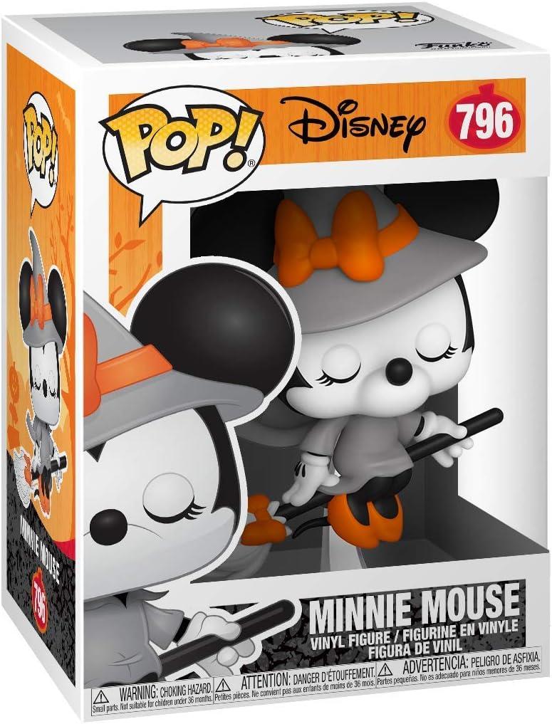 Funko Halloween-Witchy Minnie Figura Coleccionable Pop Disney 49793 Multicolor