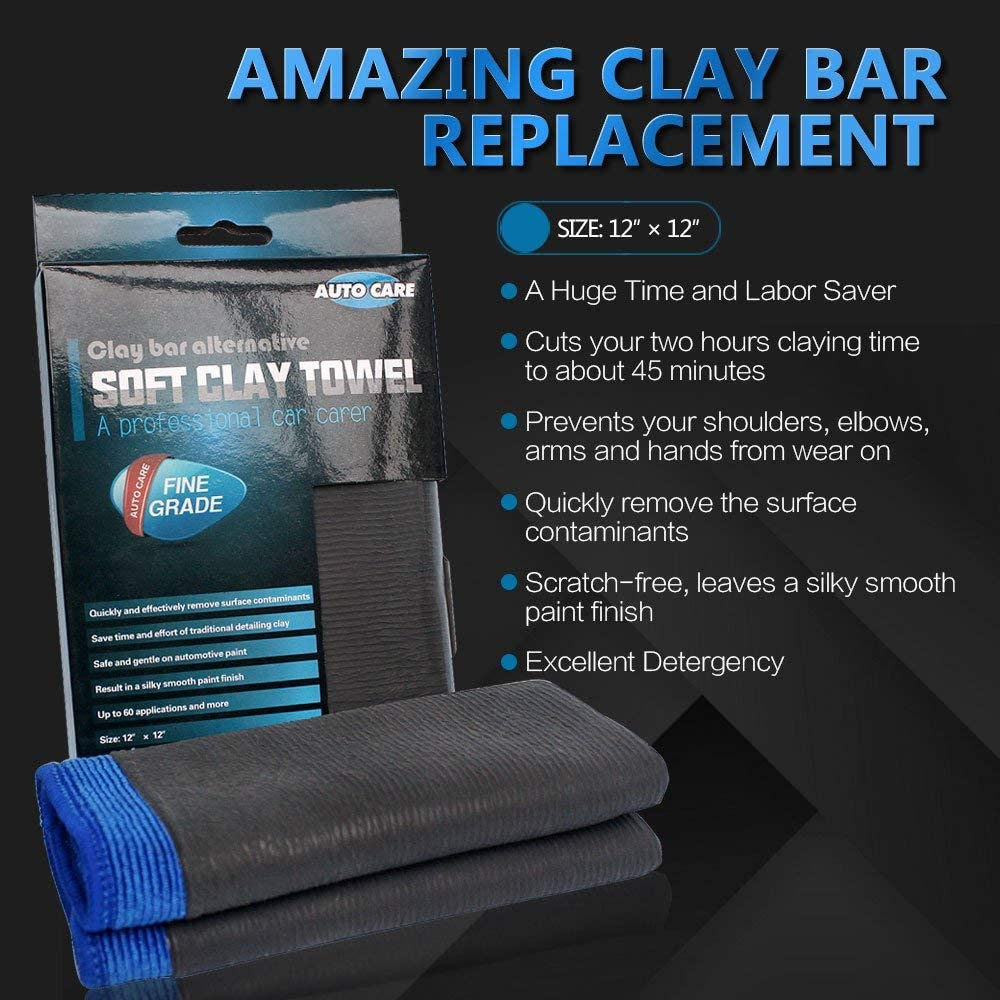 Auto Care Clay Bar Towel for Cars