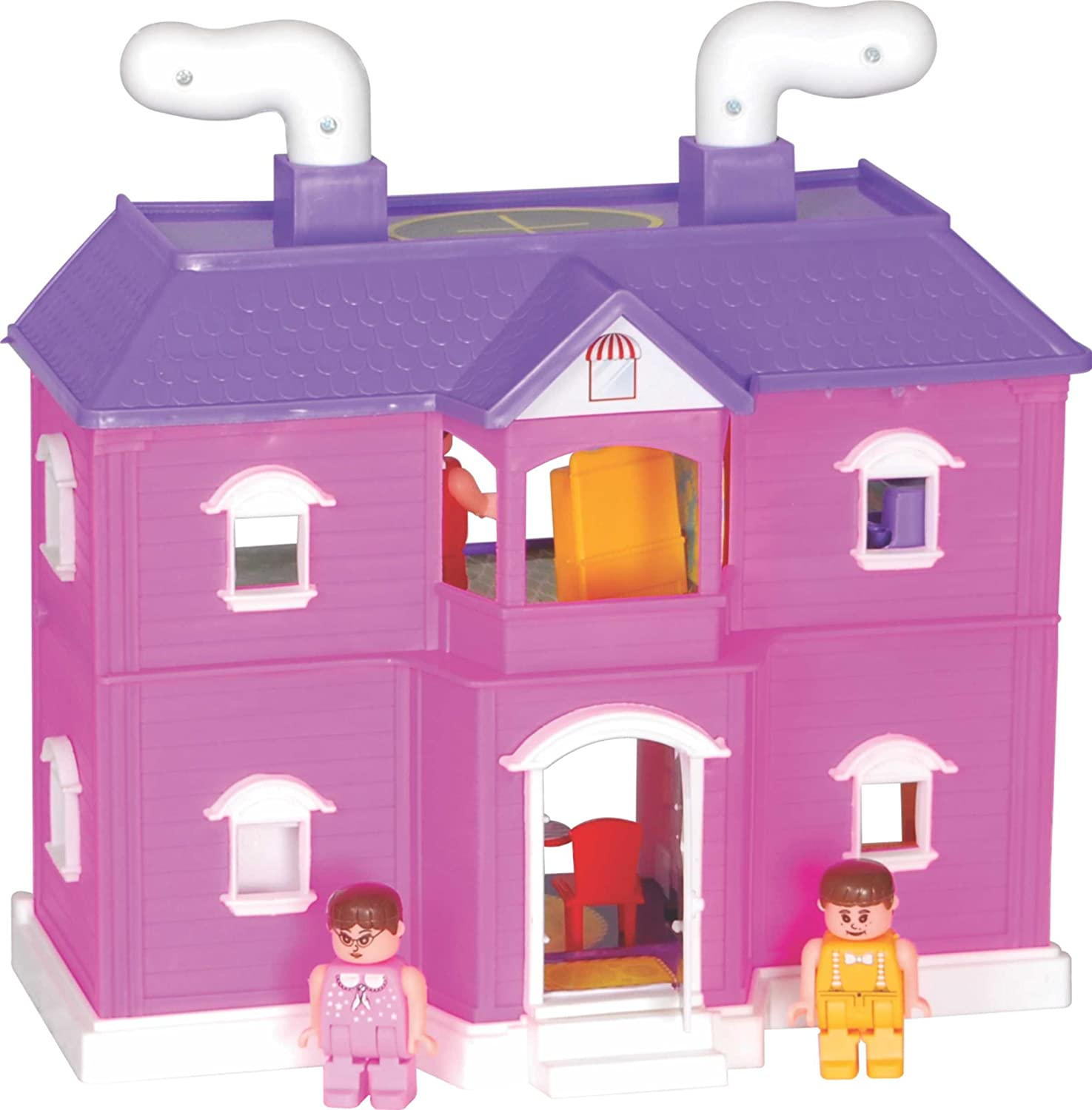 Images of doll houses - Toyzone My Family Doll House Multi Color