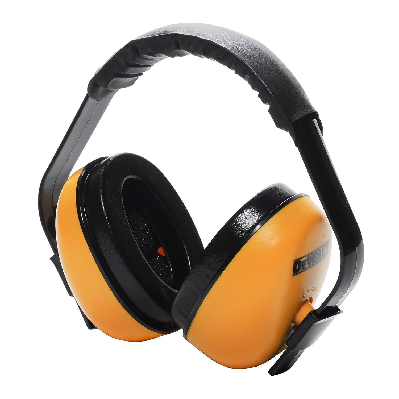 DEWALT DPG64HC Interrupter Earmuff NRR 23dB, Black/Yellow