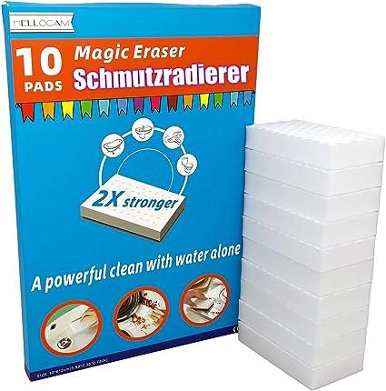 M/öbeln Schmutzradierer 24 St/ück Magischer Radierschwamm der ideale Reinigungsschwamm f/ür alle Arten von Schmutz /& Verunreinigungen in K/üche Bad