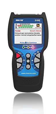 INNOVA 3100j is designed with easy handheld and easy to operate.