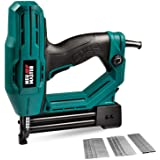 Electric Brad Nailer, NEU MASTER NTC0040 Electric Nail Gun/Staple Gun for Upholstery, Carpentry and Woodworking Projects, 1/4