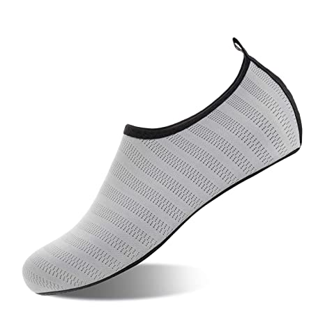 EUYOUZI Water Shoes Barefoot Quick-Dry Slip On Aqua Yoga ...