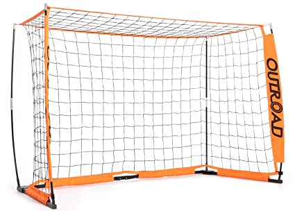 f96796e4e Outroad Portable 6x4 ft 12x6 ft Soccer Goal for Backyard - Practice Bow  Style Soccer Net, Metal Basic Soccer Net for Practice, Goal Post for Soccer  w/Carry ...