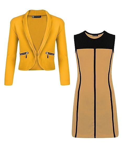 LotMart ragazze PROFILI abito e giacca SET (confezione da 2)  Amazon ... c44a63c8dae