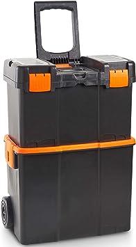 VonHaus Caja de herramientas con Ruedas - Centro de trabajo ...