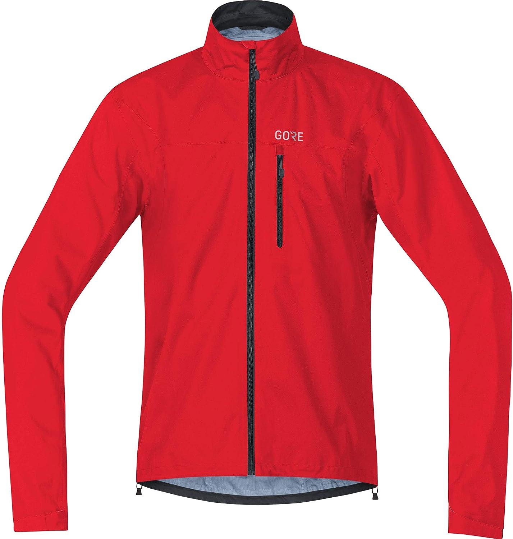 GORE Wear C3 Giacca da uomo GORE-TEX L Rosso