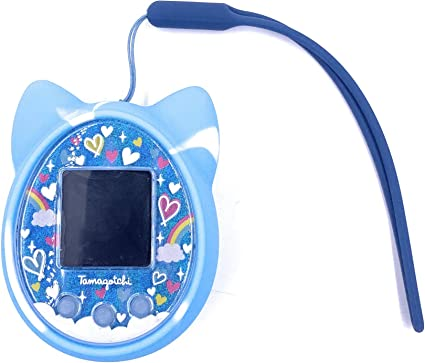 notebook Blue and white gummy bear pony bead charm for switch phone tamagotchi