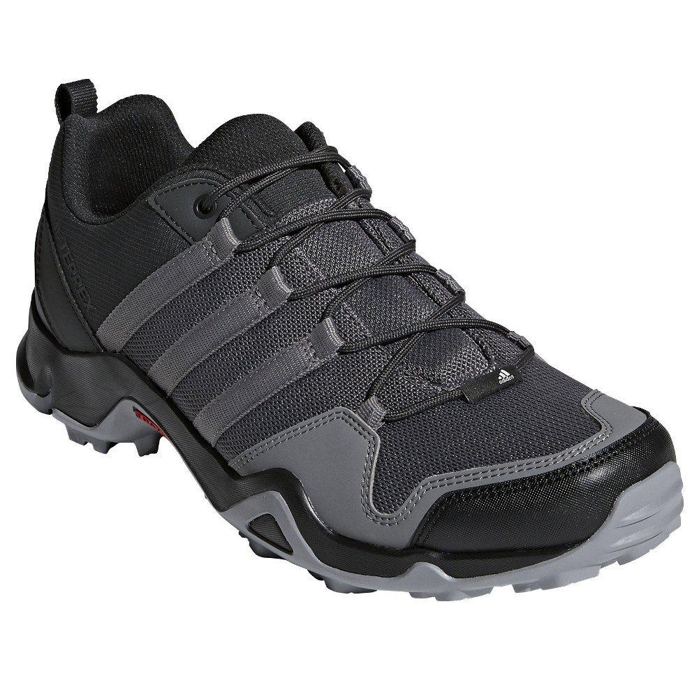 adidas outdoor Men's Terrex AX2R Carbon/Grey Four/Solar Slime 12.5 D US