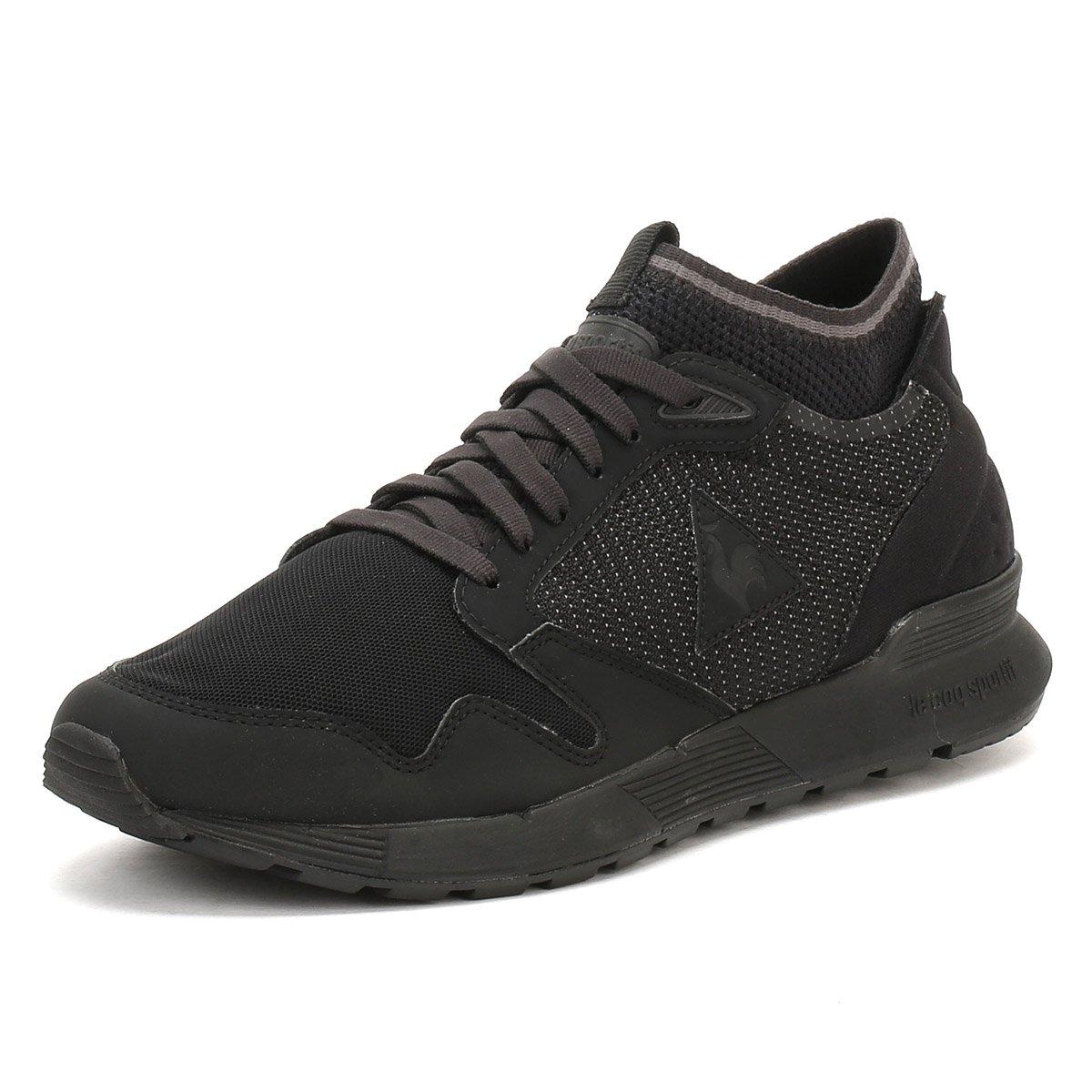 6fd197c99ccb Le Coq Sportif Mens Triple Black Omicron Trainers  Amazon.co.uk  Shoes    Bags