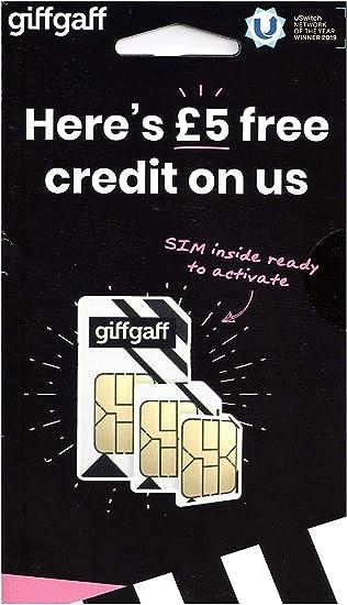 Giffgaff Triple Sim Card by Giffgaff: Amazon.es: Electrónica