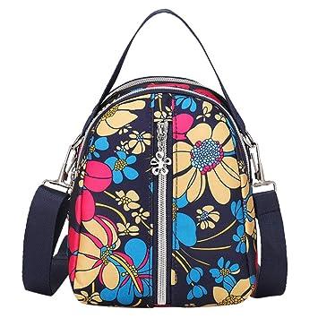 Amazon.com: Chunkuna - Bolso bandolera de viaje para mujer ...