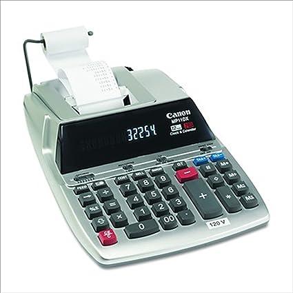 amazon com cnmmp11dx canon mp11dx printing calculatormp11dx rh amazon com Canon Calculator MP11DX Ink Ribbon canon mp11dx calculator user manual