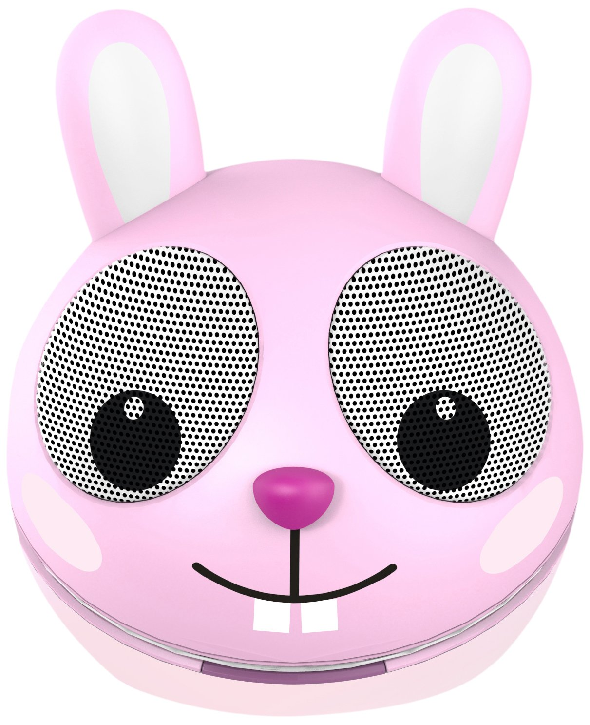 Zoo-Tunes Portable Mini Character Speakers for MP3 Players, Tablets, Laptops etc. (Rabbit) by Impecca