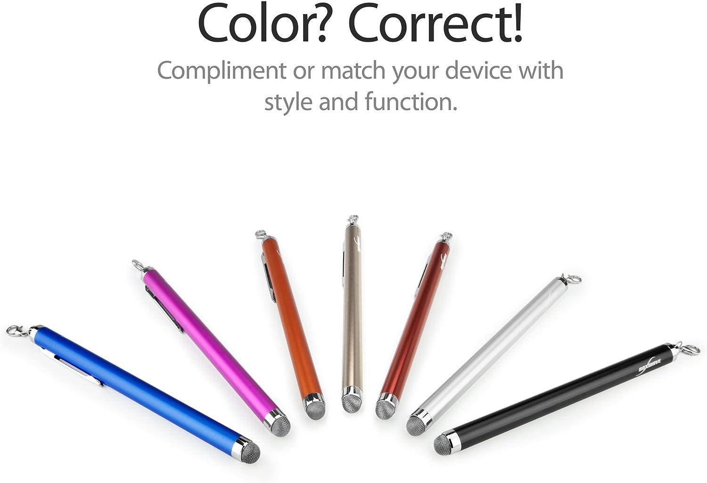 Mettler Toledo Densito Stylus Pen EverTouch Capacitive Stylus Fiber Tip Capacitive Stylus Pen for Mettler Toledo Densito Jet Black BoxWave