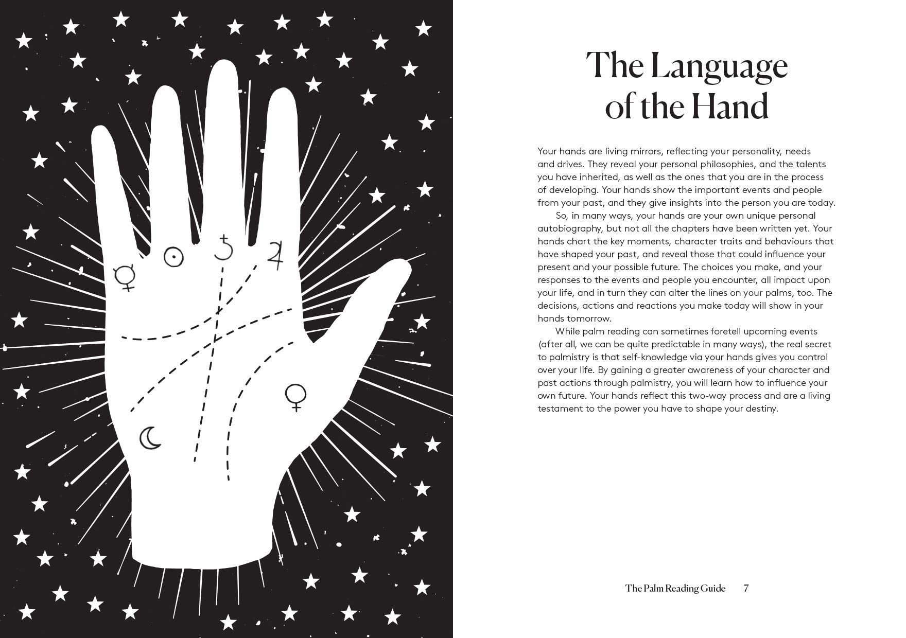 The Palmistry Guide: Reveal the secrets of the tell tale