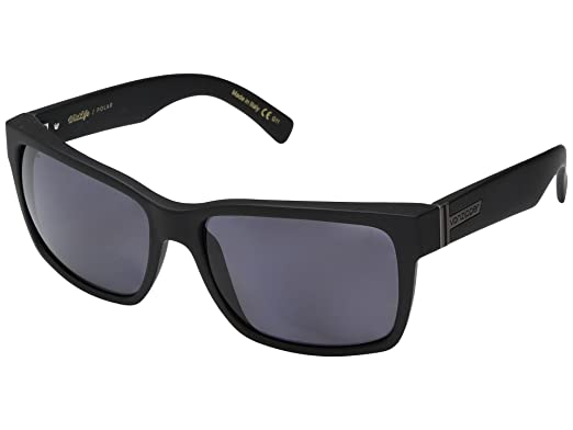 d6ad41acb14 Image Unavailable. Image not available for. Color  VonZipper Elmore  Sunglasses Matte Black With Wildlife Vintage Grey Polarized Lens