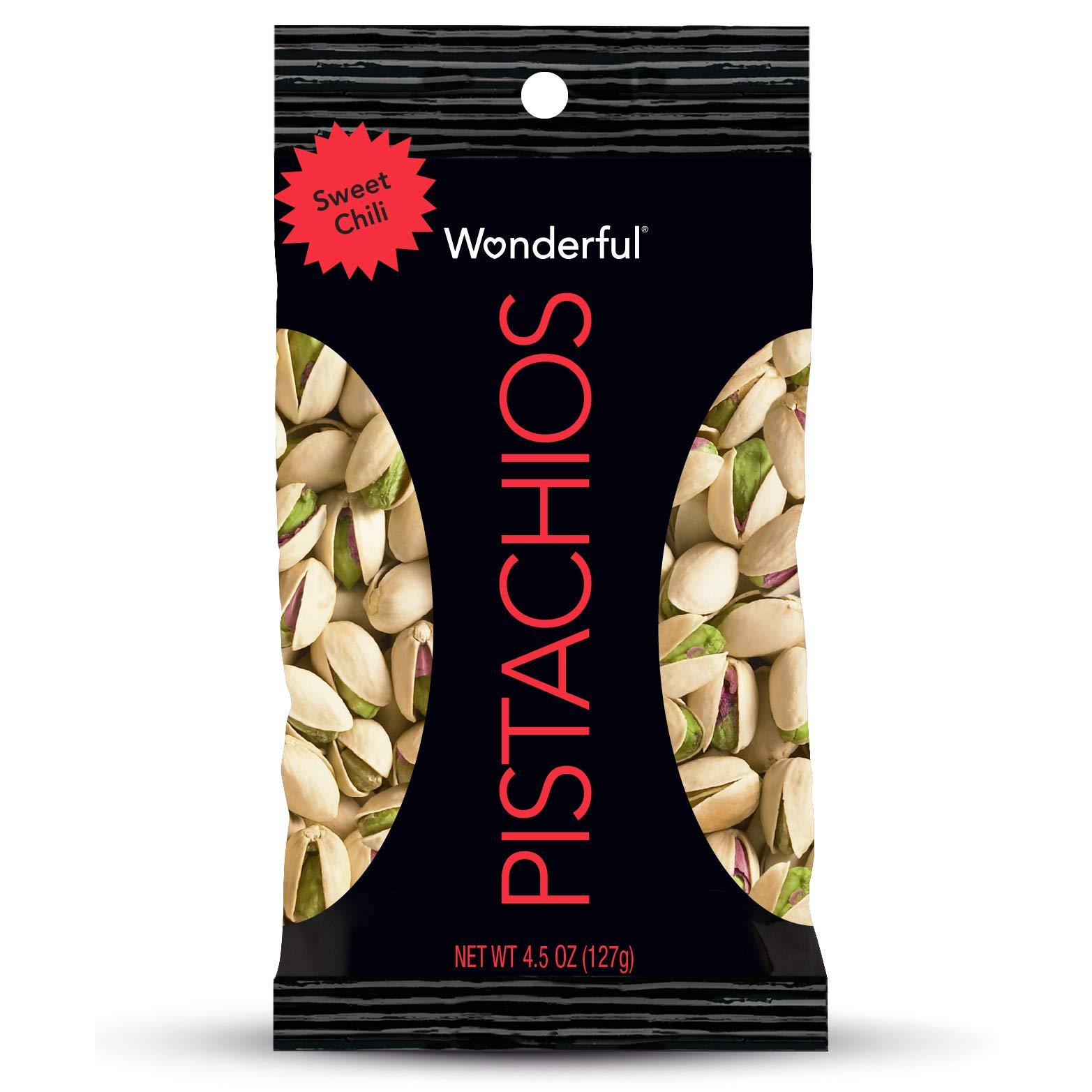 Wonderful Pistachios, Sweet Chili Flavored, 4.5 Ounce by Wonderful Pistachios & Almonds