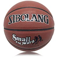 RUNACC Outdoor Basketball PU Leather Basketballs Professional Game Basketball, Official Size 7