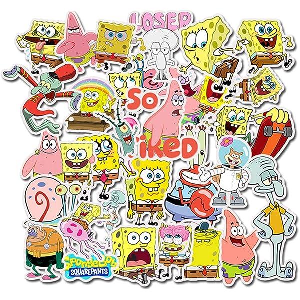 Sponge Bob Patrick Cartoon Sticker Decal laptop wall car phone