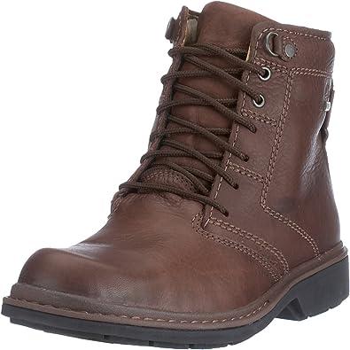 Email campana Destruir  Clarks - Botas de Cuero para Hombre, Color marrón, Talla 42.5: Amazon.es:  Zapatos y complementos