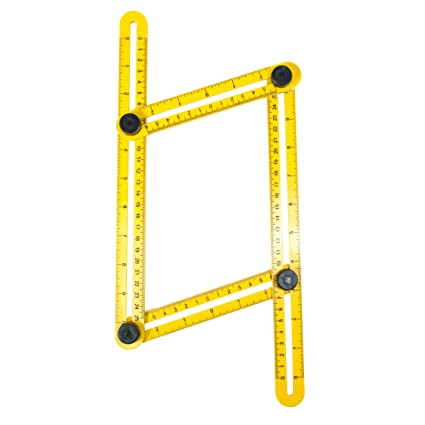 Amazon.com : TGR Multi-Angle Ruler Template Tool : Office Products