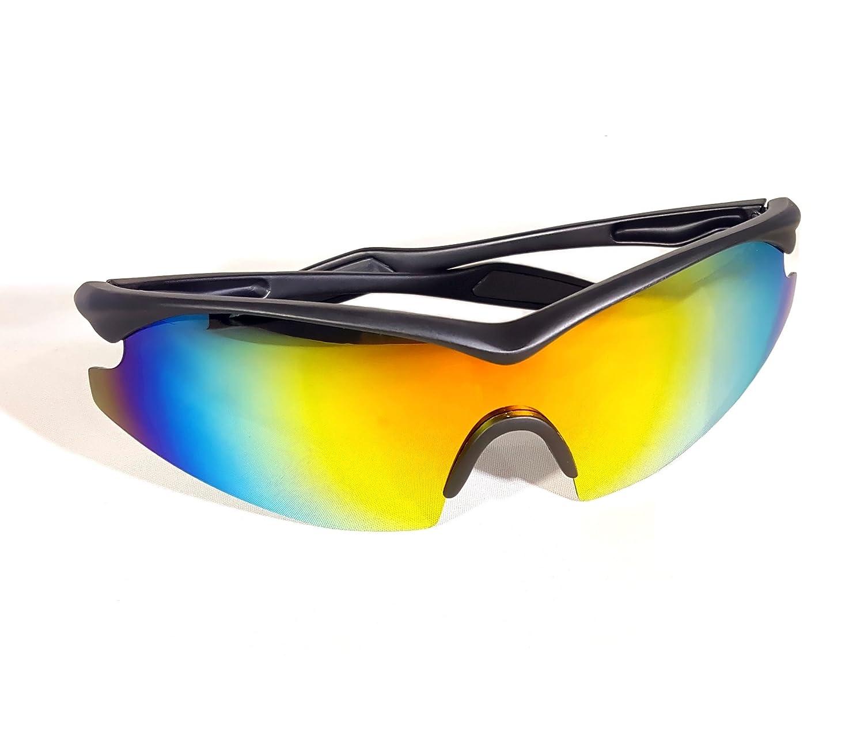 6e8c6ffdc8c Amazon.com  TAC GLASSES by Bell+Howell Sports Polarized Sunglasses for  Men Women