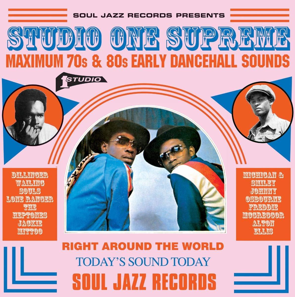 Studio One Supreme, Maximum 70s And 80s Early Dancehall Sounds Soul 3lp : Varios: Amazon.es: Música