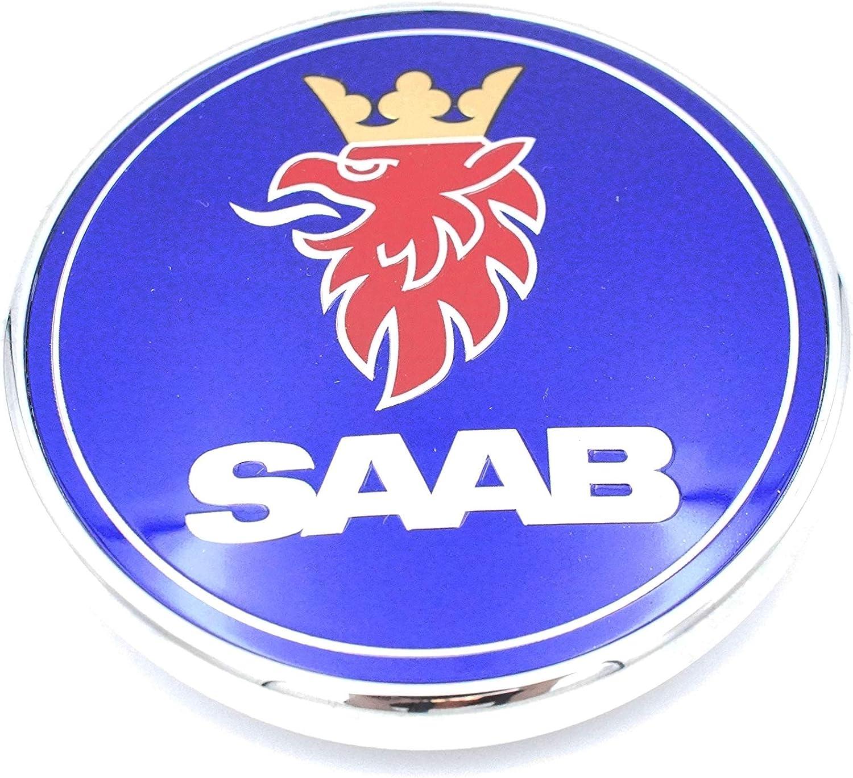 "Saab Hood Trunk Emblem replacement badge sticker decal 2.5/"" 3D 9-3 95 9-5 95"