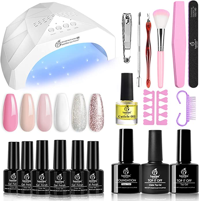 The Best Home French Manicure Set