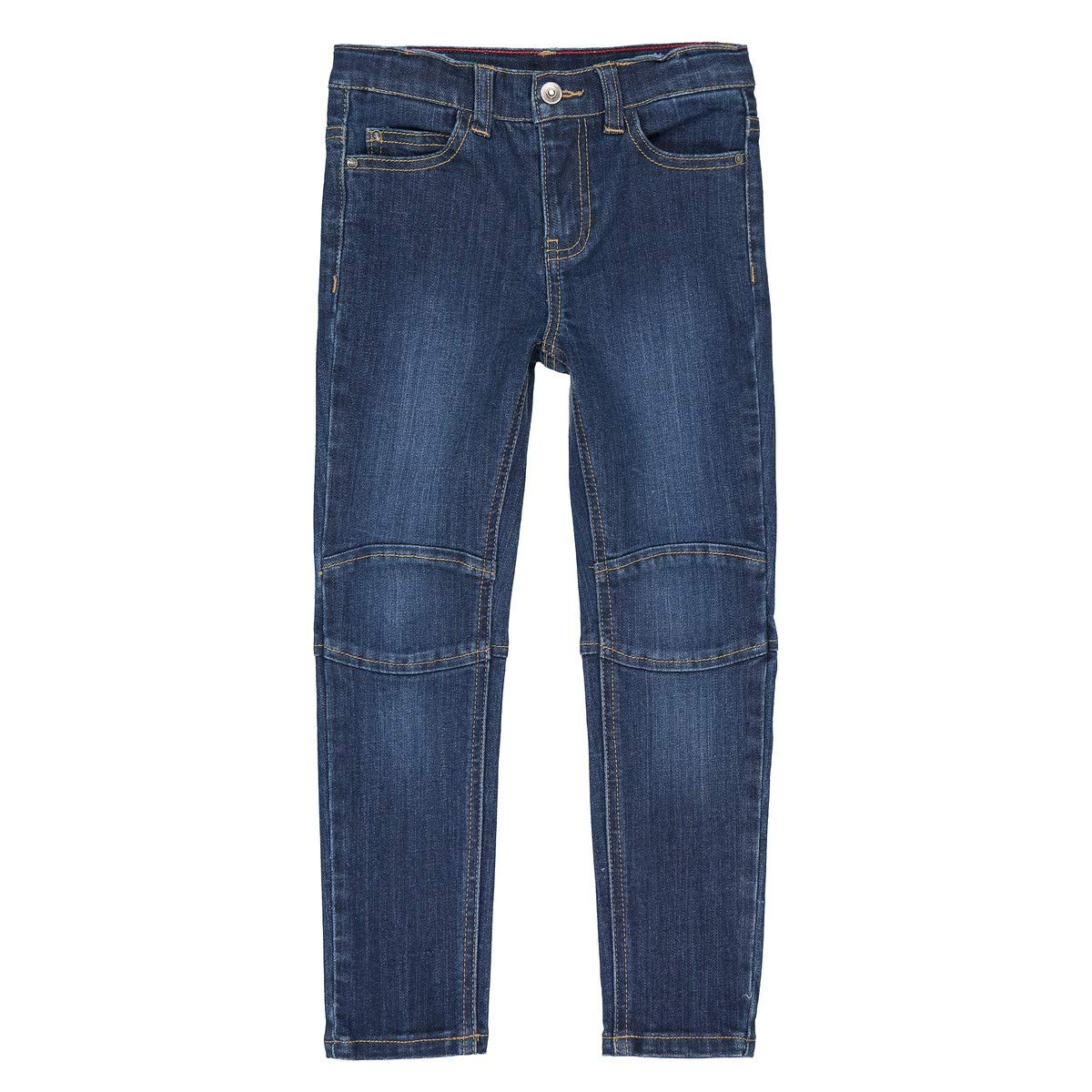 42 in. La Redoute Collections Big Boys Super Tough Slim Fit Jeans 3-12 Years Blue Size 5 Years